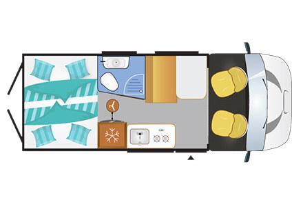 location de camping car evasia. Black Bedroom Furniture Sets. Home Design Ideas